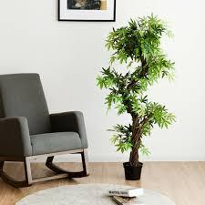 kunstpflanze deko pflanze zimmerpflanze künstlich kunstbaum mit echtholzstamm