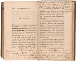 Halloween Picture Books Online by A Novel For Halloween Mary Shelley U0027s Annotated Copy Of