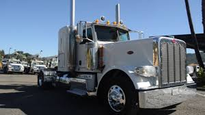 2013 Peterbilt 389 2 Axle Flat Top Sleeper / Charter Trucks - U10674 ...