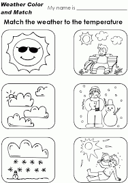 Toddlers Esl Coloring Pages Draw The Weather Worksheet B Worksheets