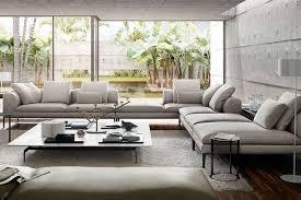 canapé luxe italien canapé italien design idées pour le salon par les top marques