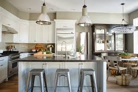 industrial kitchen lighting interiors design