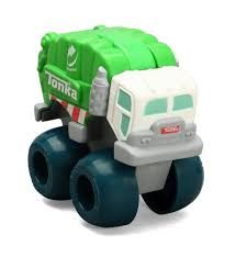 My First Tonka Mini Wobble Wheels Garbage Truck - Toys