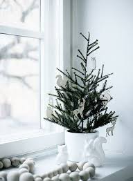 Potted Christmas Trees For Sale by 44 Space Saving Christmas Trees For Small Spaces Digsdigs