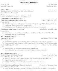 Resume Objectives For Teaching Teacher Objective Nursery