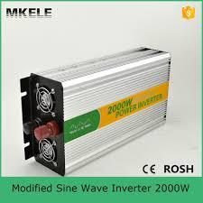 100 Truck Power Inverter MKM2000 121G Hot Sale 2000Watt Modified Sine Dc Ac 12V 110V Truck