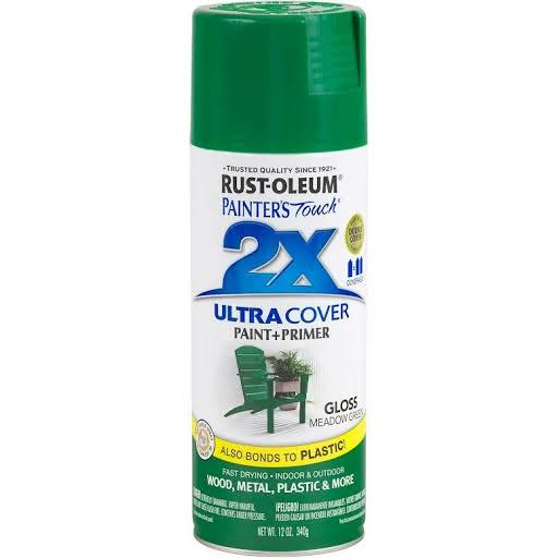 Rust-Oleum Painter's Touch 2X Ultra Cover Paint And Primer - Meadow Green
