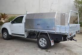 Duratray-alloy-service-body-rear-rack-toolboxes | Duratray