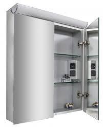 spiegelschrank multy bs60 mit innenverspiegelung steckdose led licht breite 60cm