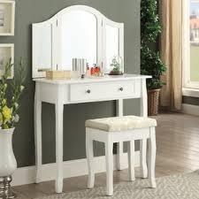 Vanity Mirror Dresser Set by Makeup Tables And Vanities You U0027ll Love Wayfair