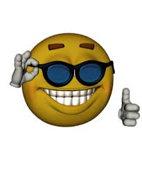 Smiley Face Sunglasses Thumbs Up Emoji Meme By Obviouslogic