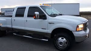 100 Dually Truck Rental SOLD2007 Ford F350 Crew King Ranch For Sale4x4DieselLeather