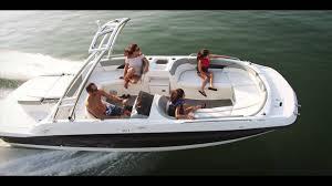 bayliner 217 deck boat youtube
