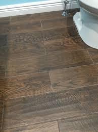 wood look tile flooring in bathroom also wood look tile flooring