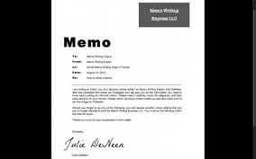 How to Write an Informal Memo