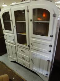 Vintage Retro Deco Kitchen Dresser Hutch Cabinet
