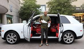 100 Rolls Royce Truck NBA Player Has Custom Air Jordans Made To Match His
