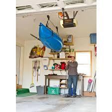 Garage Ceiling Kayak Hoist by Canoe U0026 Kayak Hoist Storage System By Apex Discount Ramps