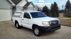 2009 Taco Reg Cab ,85k, 5 Speed, Utility Topper - $10250 | Tacoma World Leer Commercial Caps Addon Auto Accsories 0106 Toyota Tundra Access Cab 63 W Bed Caps Bed Hard Fold Cover Camper Shell Flat Lids And Work Shells In Springdale Ar Bikes Truck With Topper Mtbrcom Truck Used Saint Clair Shores Mi On 5 X10 Utility Trailer Campers Pinterest Covers Lids Tonneau Camper Tops Fuller
