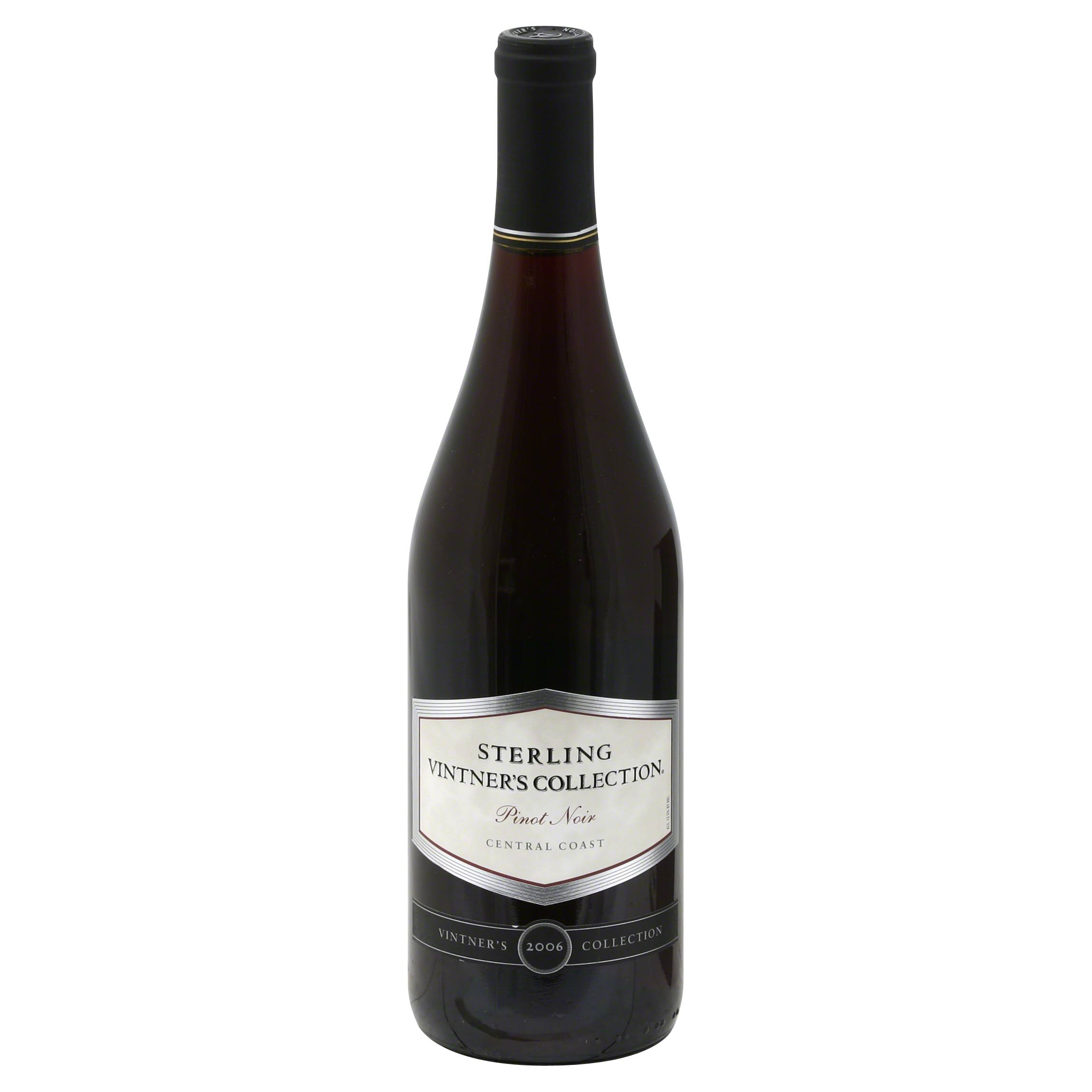 Sterling Vintner's Collection Pinot Noir, Central Coast, 2006 - 750 ml