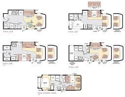 C Floor Plans by Winnebago View Class C Motorhome Floorplans Favorite Places