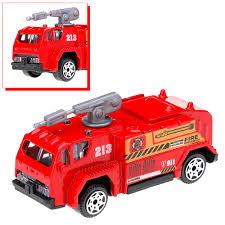 6 Pcs 1:87 Mini Diecast Alloy Car Toys Set Miltary Fire Truck Swat ...