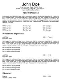 Resume Example For A Retail Job Feat Sample