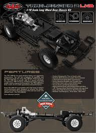 RC4WD ZK0059 Trail Finder 2 Truck Kit LWB 1/10 Scale Long Wheel Base ...
