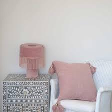 deko kissen bezug in grau und rosa dubai