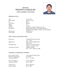 Cosy Resume Examples For Welding Jobs With Sample Welder