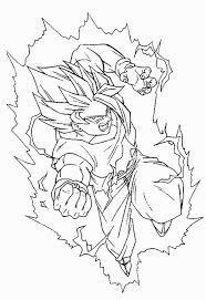 Dragon Ball Z Cell Coloring Pages Printable Coloring Page For Kids