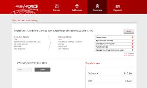 Promotional Code | Parcelforce Worldwide