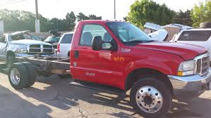 100 Wrecked Ford Trucks For Sale 2002 F550 73L Powerstroke Turbo Diesel 6 Speed Manual Subway