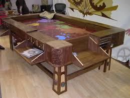 Dining Room Pool Table Combo by Game Table By Geek Chic Misc Nerdy Stuff Pinterest Game