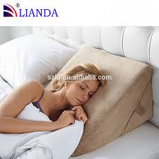 Bed Wedge Acid Reflux by Wedge Pillows For Snoring Pillow Ideas