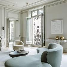 Joseph Dirand Apartment Showing Diamant Ceiling Spot
