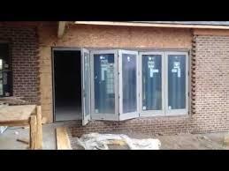 Andersen Outswing French Patio Doors by Andersen Folding Outswing Door Youtube