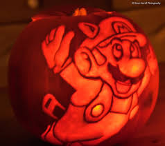 Mario Pumpkin Template Free by Amazing Pumpkin Carvings Robot Plunger
