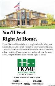 ll Feel Right At Home Home National Bank Syracuse OH
