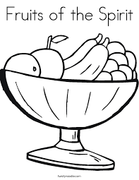 Collection Of Solutions Fruit Bowl Printable Coloring Pages About Description