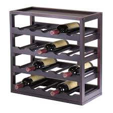 Locking Liquor Cabinet Amazon by Amazon Com Winsome Wood Kingston Removable Tray Wine Storage Cube
