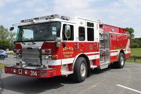 100 Pierce Trucks BAVFC Front Line Fleet Bel Air Volunteer Fire Company