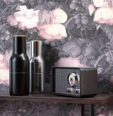newroom vliestapete blumentapete anthrazit rosa wallpaper floral blumen tapete pflanzen blumen wohnzimmer schlafzimmer büro flur kaufen otto