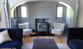 The Expansive Property Also Features An Enormous Living Area Complete With A Wood Burning Stove Which