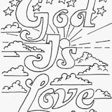 Love God Coloring Pages