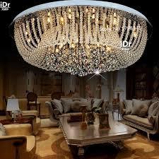 modernen minimalistischen schlafzimmer le gemütliches wohnzimmer le led kristall runde deckenleuchten luxus le hotel beleuchtung