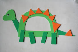 D Is For Dinosaur Kids Party Craft Idea