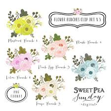 Rustic Flower Clipart 1