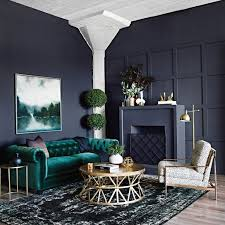 farbkombination grün grau gold wohnzimmer einrichten