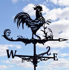 Weathervanes For Sheds Uk by Rooster Chicken Metal Weathervane Roof Mount Wind Decor